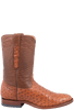 Benchmark by Old Gringo Men's Brandy Full-Quill Ostrich Cody Roper Boots - Side