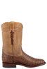 Benchmark by Old Gringo Men's Caramel Belly Caiman Cody Roper Boots - Side