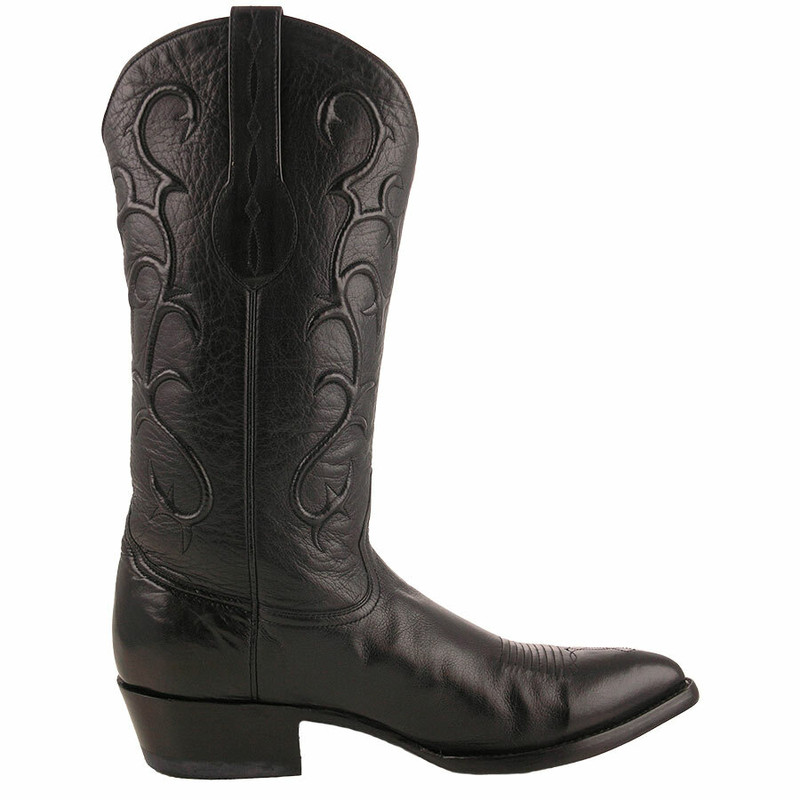 Benchmark by Old Gringo Men's Black Florence Buffalo Calf Pecos Boots - Side