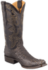 Benchmark by Old Gringo Men's Black and Tan Hornback Caiman Teton Boots - Hero