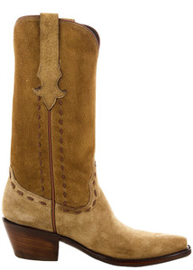 Stallion Women's Tan Cerdo Polaco Boots - Side