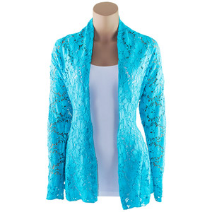 Staples Lace Cardigan Jacket