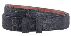 "Elephant 1 1/4-1"" Tapered Belt Strap - Black 1"
