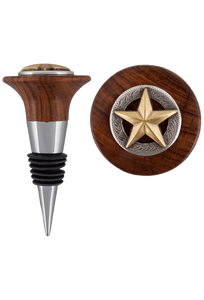 Home - Texas Theme Wine Stoppers - Capital Star Gold