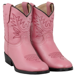 Toddler - Pocono Western Dark Pink Toddler Boots