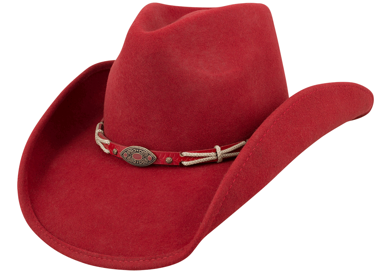 bc499b467c6 Bullhide Emotionally Charged Wool Hat - Red - Pinto Ranch