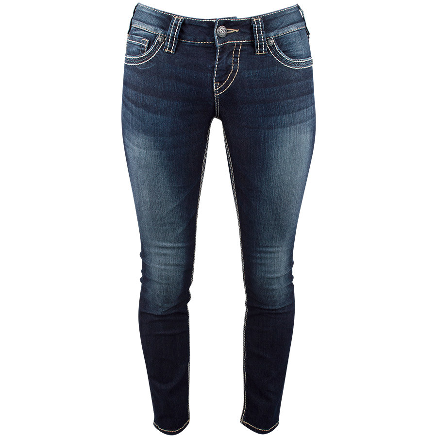 5ac8537f Silver Jeans Suki Skinny Jeans with Flap Pocket - Pinto Ranch
