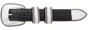 "Horst Schrader Plain Rope Edge 1"" Buckle Set"