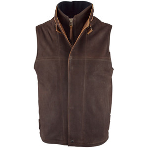Lone Pine Traveler Vest - Brown - Front