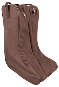 Boot Bag - Brown - Front