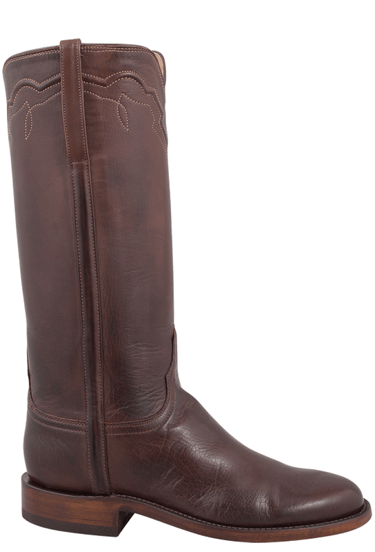 LUCCHESE WOMEN'S WHISKEY BABY BUFFALO ROPER BOOTS