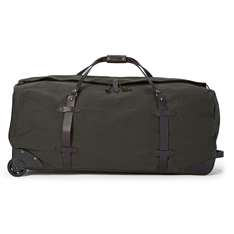 Filson Large Rolling Duffle - Otter Green - Side