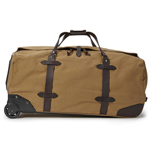 Filson Large Rolling Duffle - Tan - Side