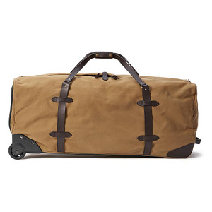 Filson Extra Large Rolling Duffle - Tan - Side