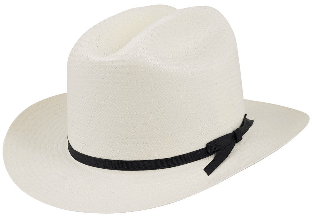 Stetson 6X Open Road Straw Hat - Pinto Ranch 2abd8f1f6328