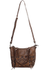 American West Mystic Shadow Convertible Zip Top Tote - With Strap