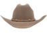 Cross Concho Studded Leather Hat Band - Tan - Front