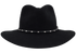 Stetson 5X Diamond Jim Felt Hat - Black - Front