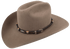 Tan and Black Scalloped Leather Hat Band with Conchos - Hero