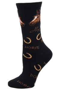 FBF Originals Horse Words Socks