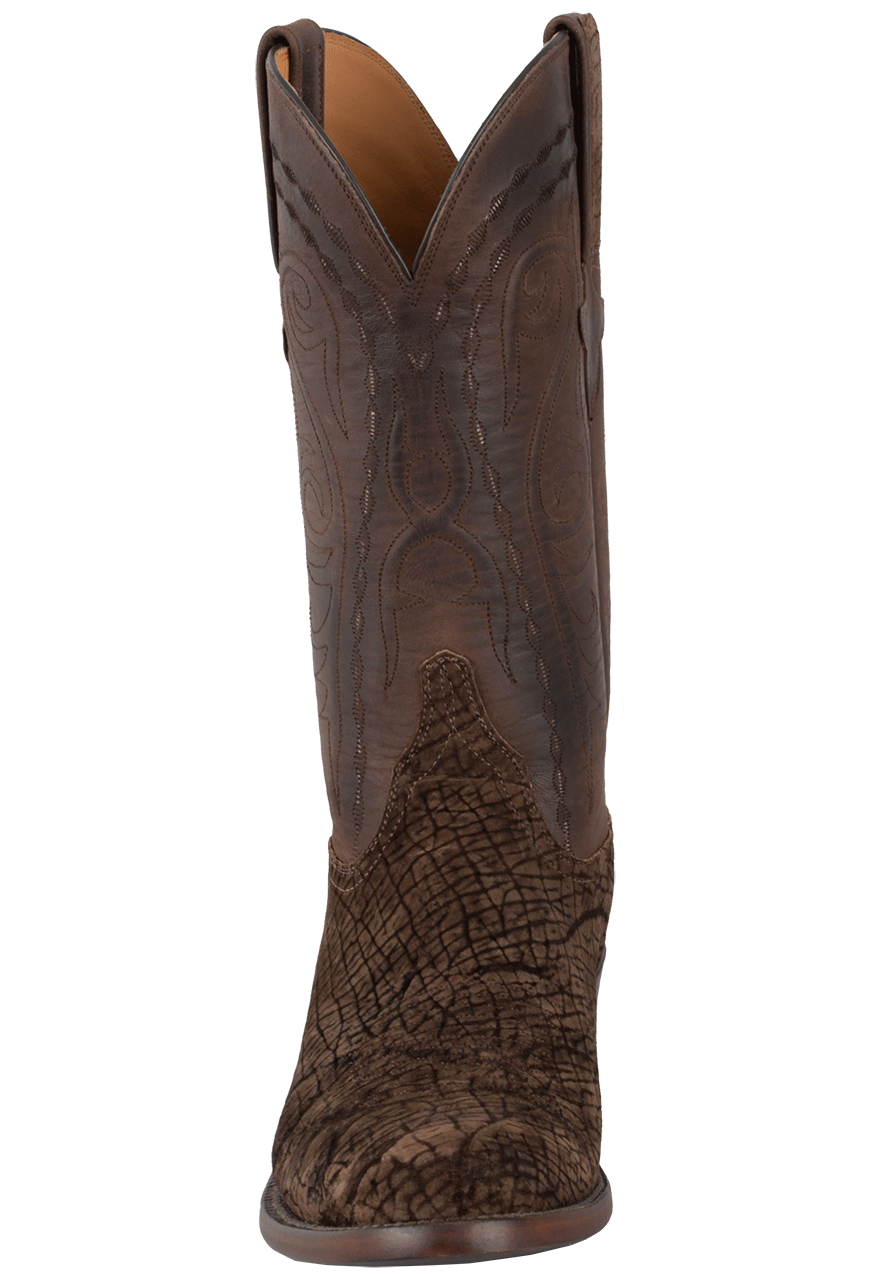 1b7679988bb Lucchese Men's Chocolate Hippo Boots