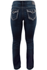 Silver Jeans Suki Mid-Rise Slim Bootcut Jeans - Back