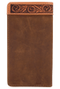 Lone Star Checkbook Wallet - Brown - Back