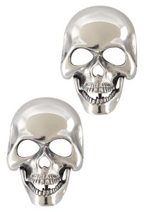 Jeff Deegan Large Skull Cufflinks - Front
