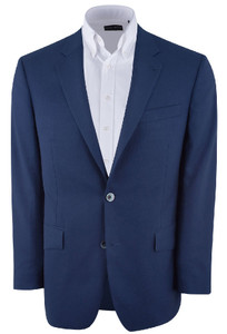 Medium Blue Western Sport Coat - Front