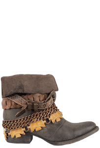 Freebird by Steven Women's Brown Yerba Boots - Side
