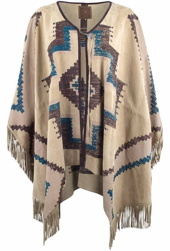 Double D Ranch Manta Hermosa Poncho - Front
