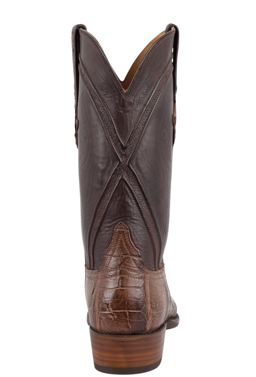Lucchese Gator Boots Buy Lucchese Men S Chocolate Wild