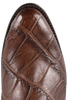 Lucchese Men's Chocolate Wild Gator Boots - Toe