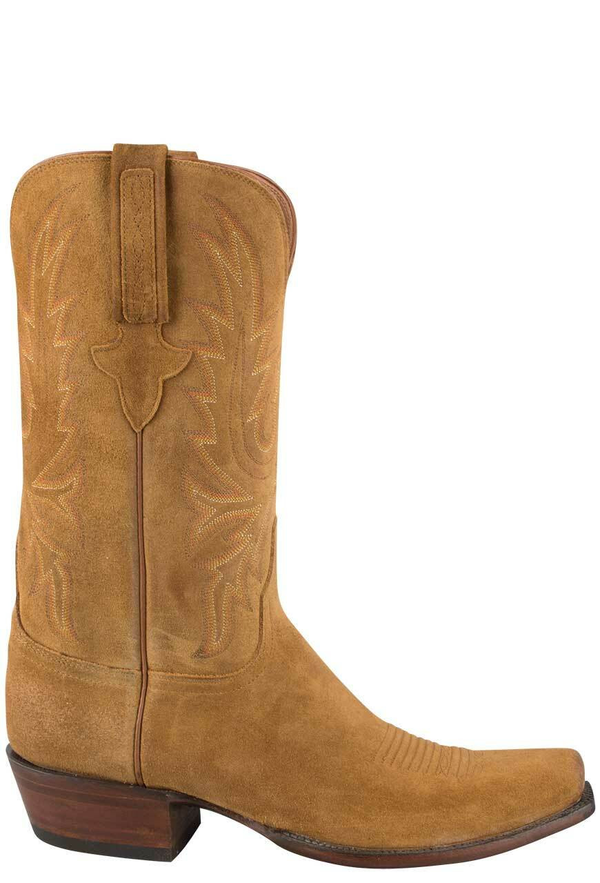 ca3c3c8a4ca Lucchese Men's Sand Burnished Wax Cowhide Boots