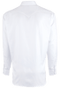 Pinto Ranch YY Collection Solid White Herringbone Shirt - Back