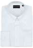 Pinto Ranch YY Collection Solid White Herringbone Shirt