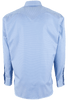 Pinto Ranch YY Collection Blue Fancy Solid Shirt - Back