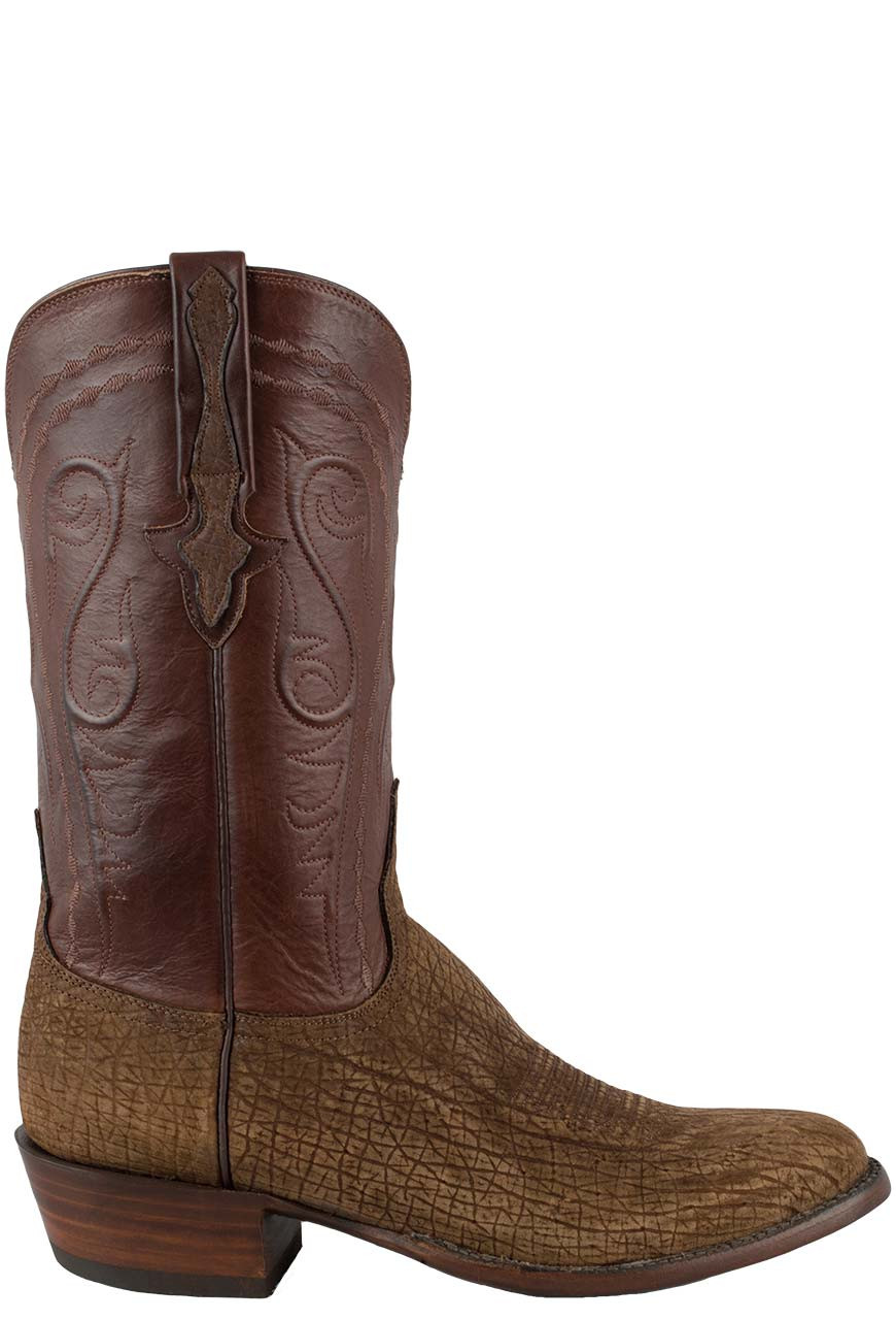 755a5aa57c6 Lucchese Men's Tan Hippo Boots