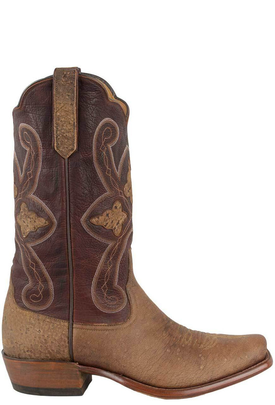 1d758955b4e Rios of Mercedes Men's Rum Brown Zebra Boots
