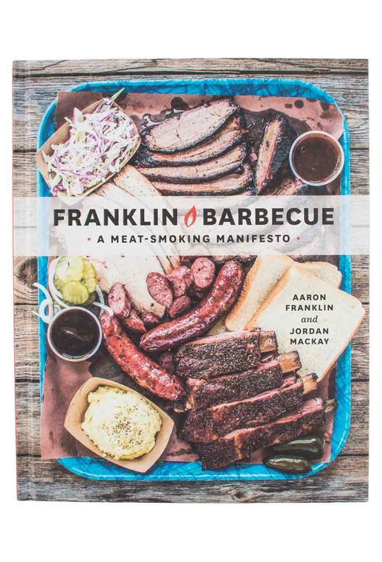 """Cookbook """"Franklin Barbeque: A Meat-Smoking Manifesto"""""""