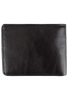 Leather Carnegie Passcase - Black - Back