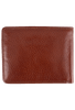 Leather Carnegie Passcase - Brown - Back