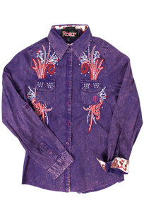 Kids - Roar Girls Benevolent Western Blouse - Front