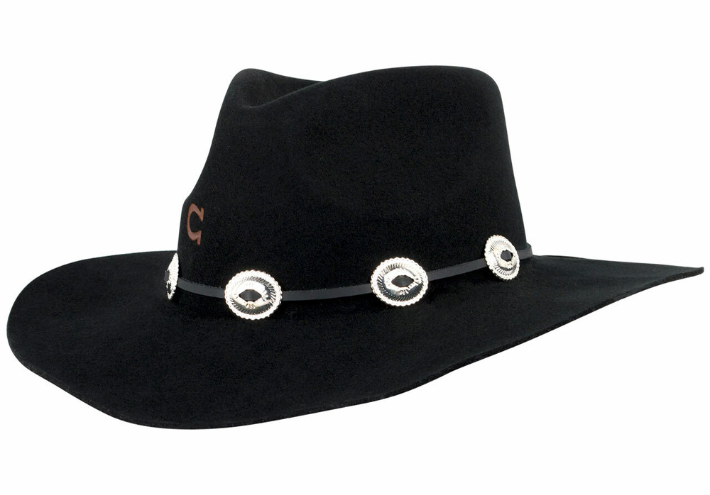 Charlie 1 Horse Traveler Hat - Black