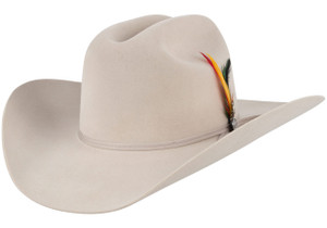 Stetson 6X Roper Felt Hat - Silver Belly - Side