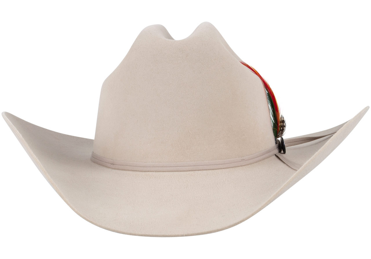 57abaaf6cd723 Stetson 6X Roper Felt Hat - Silver Belly - Pinto Ranch