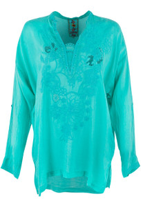 Johnny Was Lusana Blouse - Front