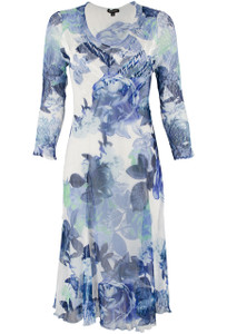 Komarov Bloom 3/4 Sleeve Dress - Front