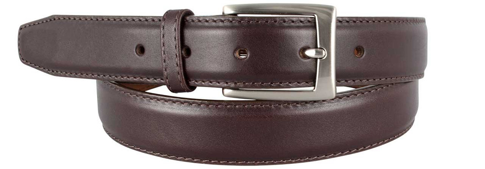 Norton Dress Belt - Dark Brown