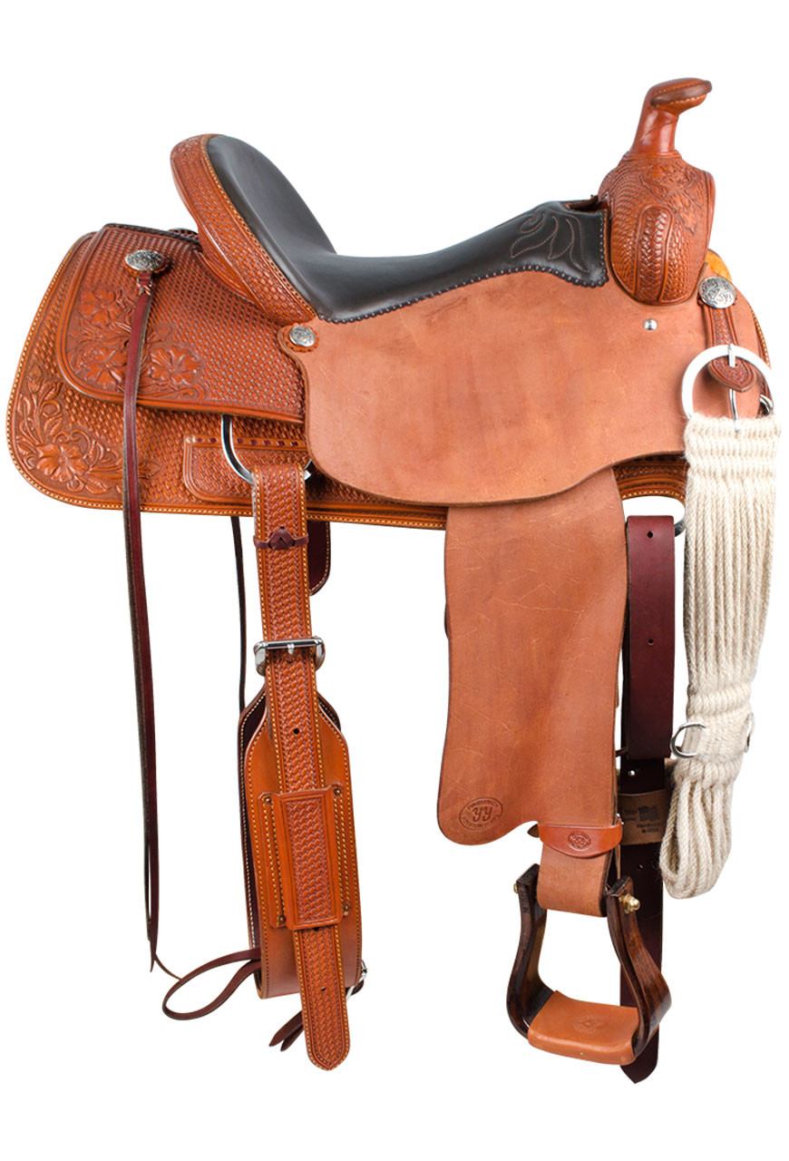 Pinto Ranch Will James Ranch Roper Western Saddle